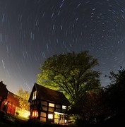 Startrails at farmho