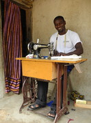 Tailor at work in Ko