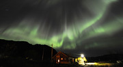 Auroral display with