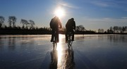 Cycling on a frozen