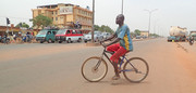 Cycling in Ouagadoug