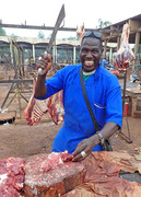 Abattoir in Ouagadou